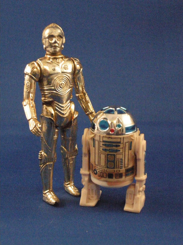 R2d2 And C3po Toys : Star wars c po and r d action figures by darranandmistysshop