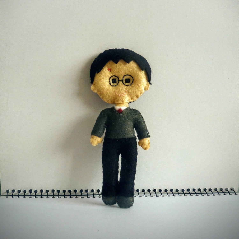 Harry Potter Inspired Felt Doll