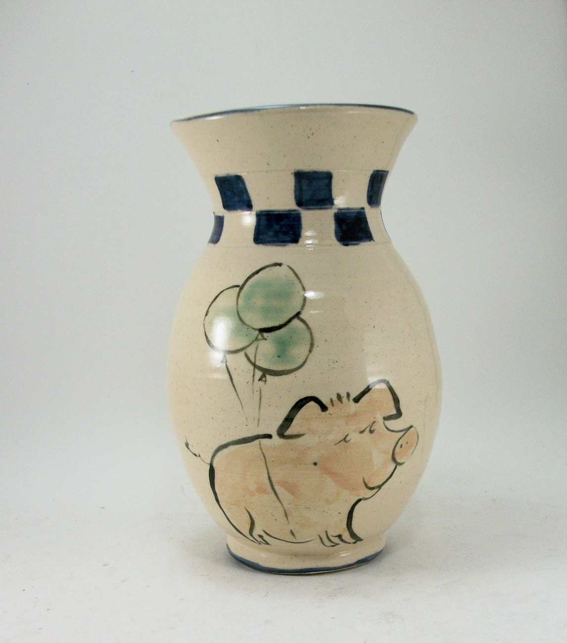 when pigs fly vase