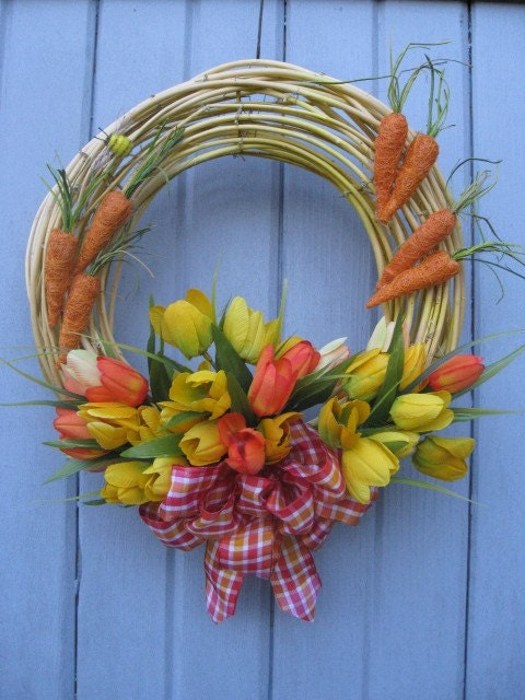 Spring Farmers Market Wreath (no 1114)