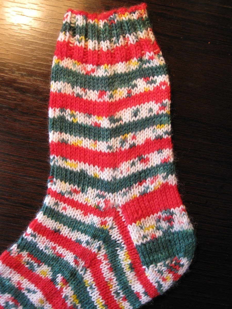 Pre-order Christmas Confetti self striping sock yarn