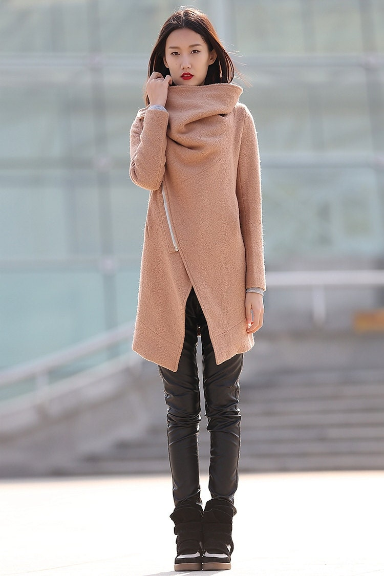 Womens brown winter coat