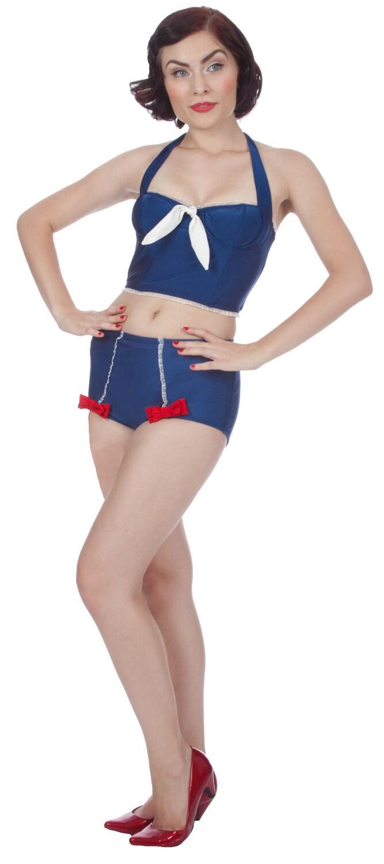 Penelope Swim Bustier (XS-1X)