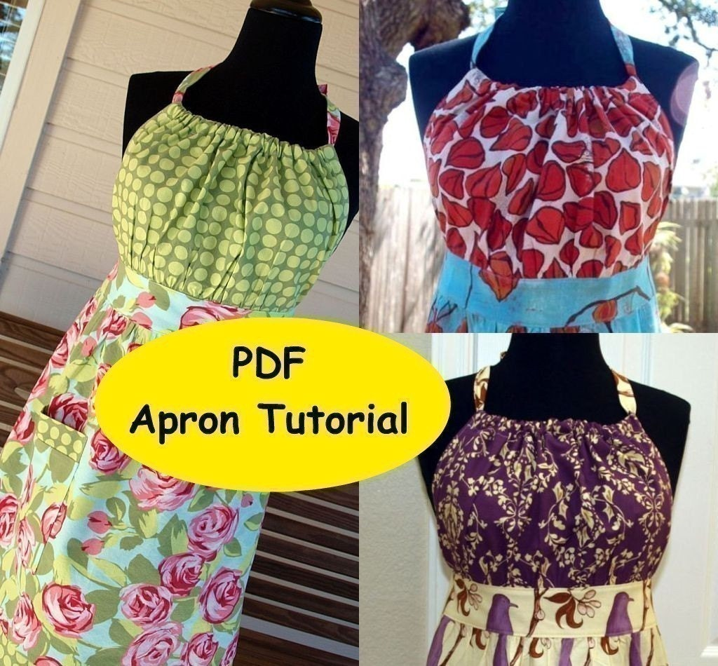 PDF PATTERN TUTORIAL - Urban Chic Apron