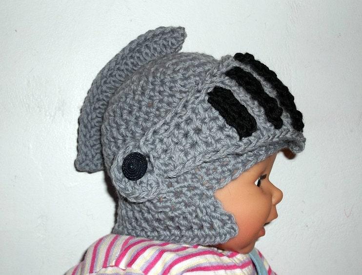 Crochet Knight Helmet Pattern Free