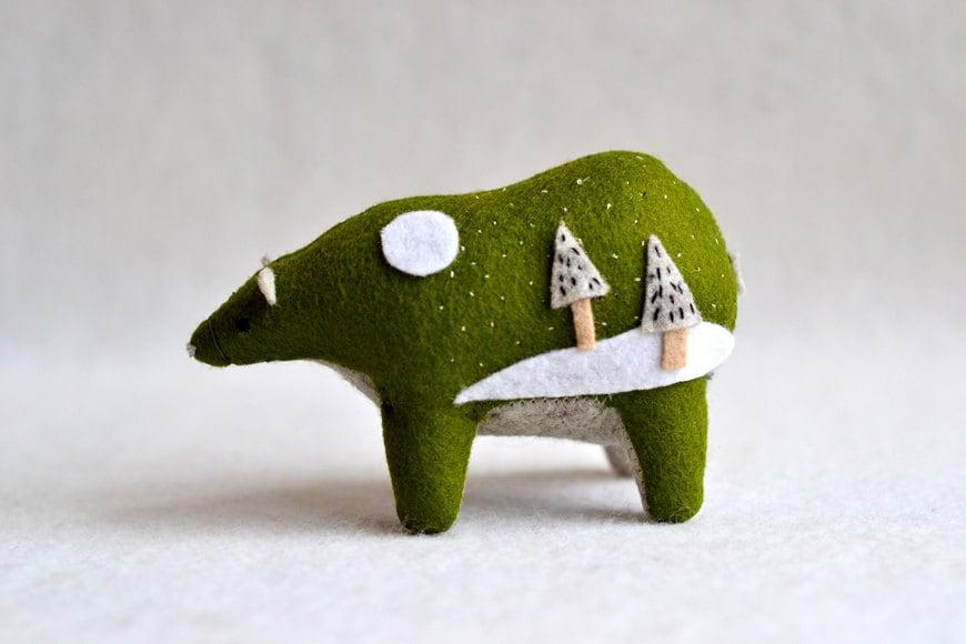 evergreen spirit bear