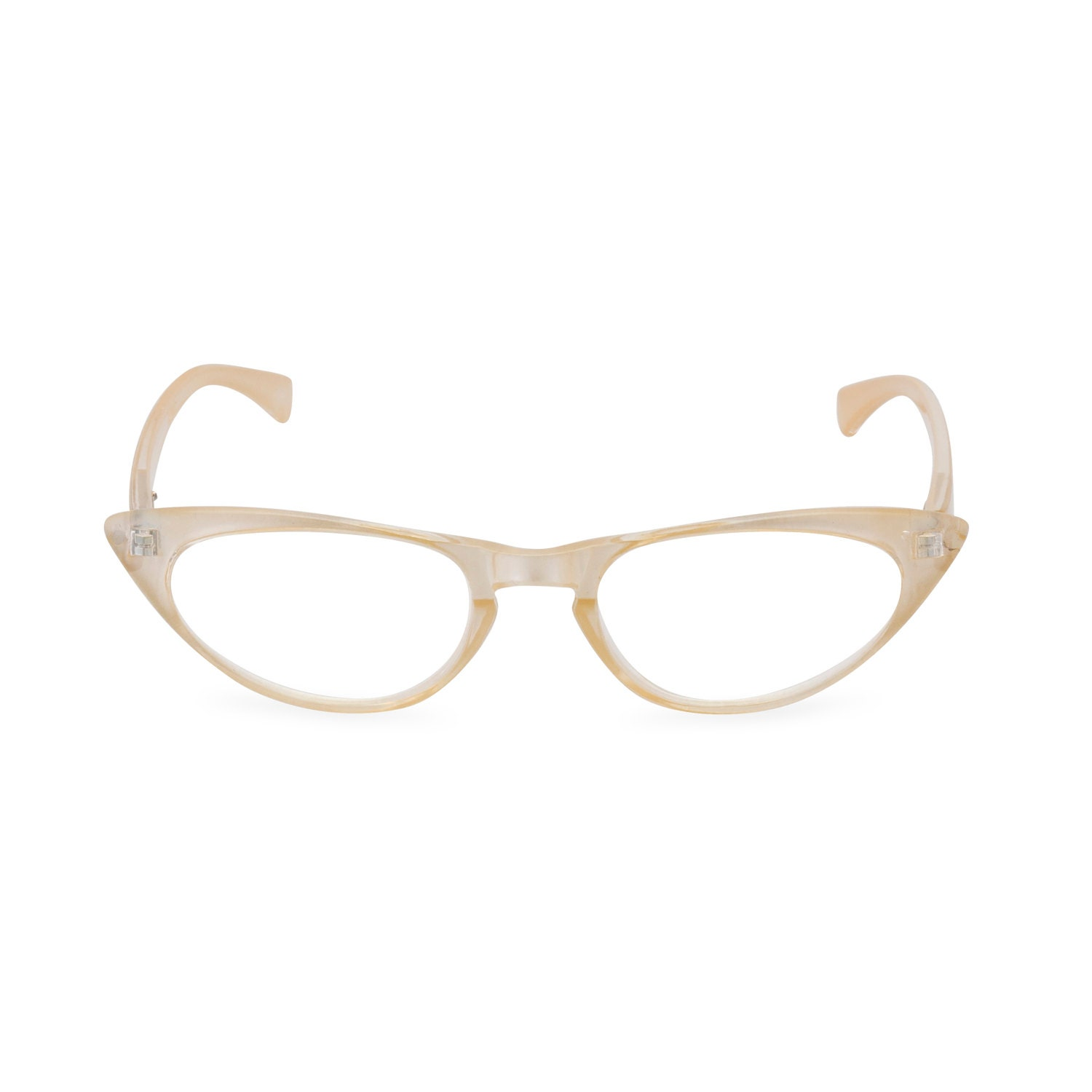 1950s 60s style Pearl CAT EYE Rxable frame or reading glasses 1.25 to 3.00 NEW to original vintage design best seller Peggy