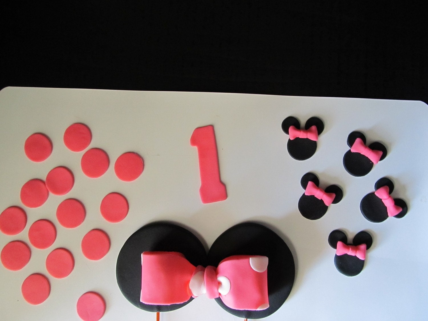 Edible Fondant Minnie Mouse