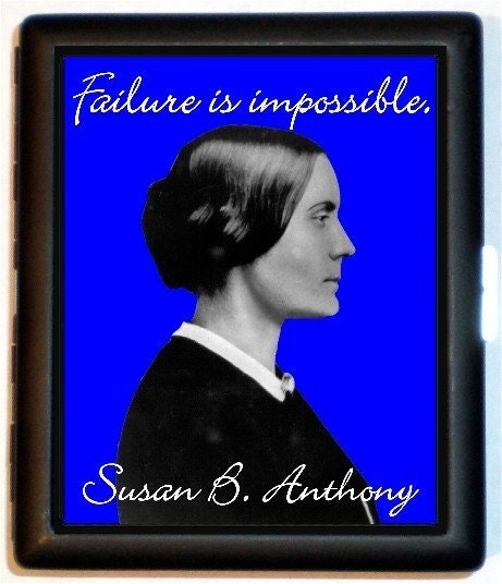 susan b anthony quotes. Susan B. Anthony Failure is