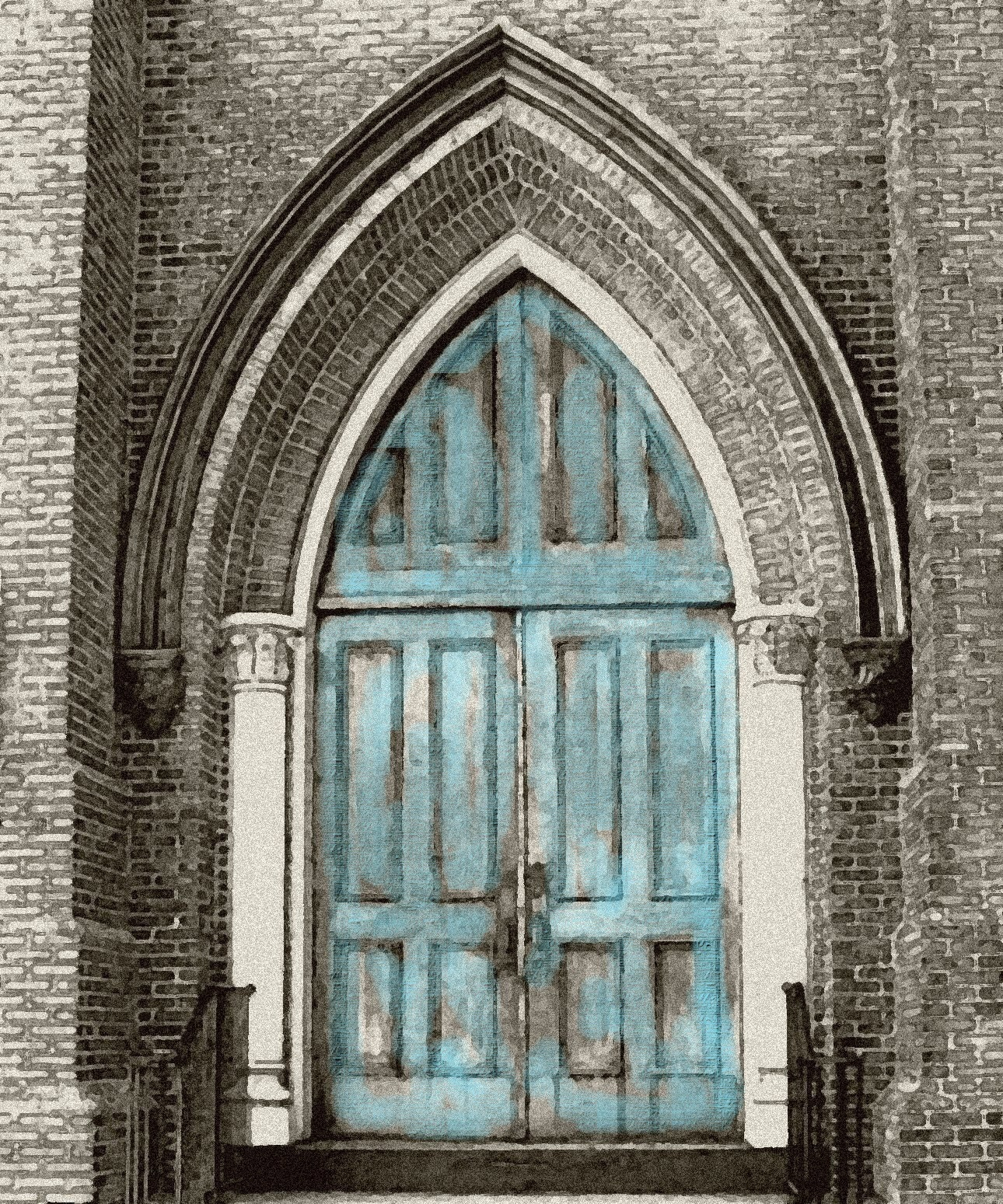 The Blue Doors - Fine Art Photography