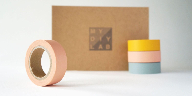 Peach Pink Washi Tape - mydiylab