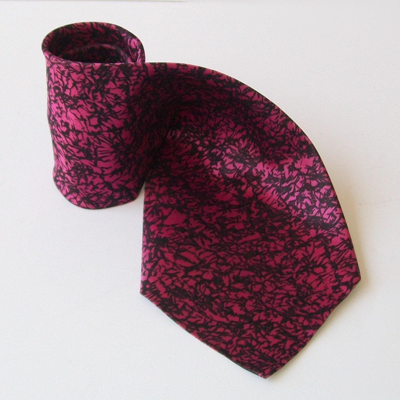 Vintage RAD PINK Tie