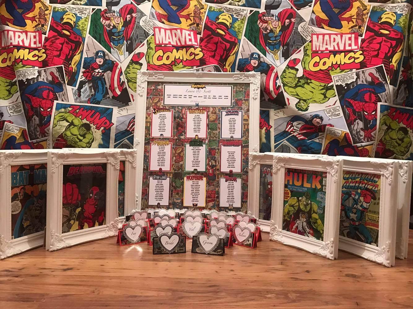 Marvel Wedding bundle