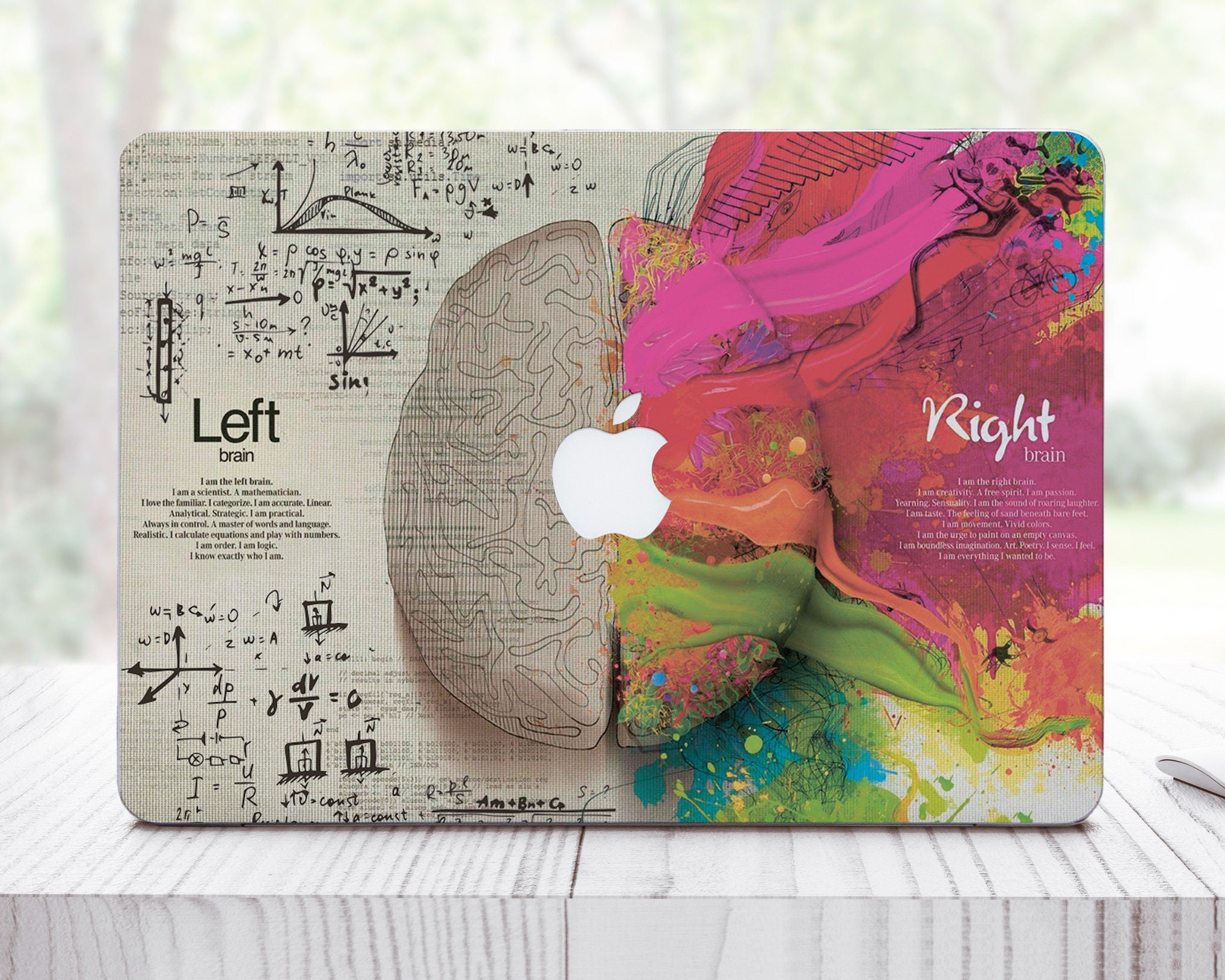 Brain Pro Retina 15 Vinyl Sticker Laptop Case For Mac Air 13 MacBook Pro 15 2016 Skin HP Skin For Dell Asus Decal Macbook Skin ES0048