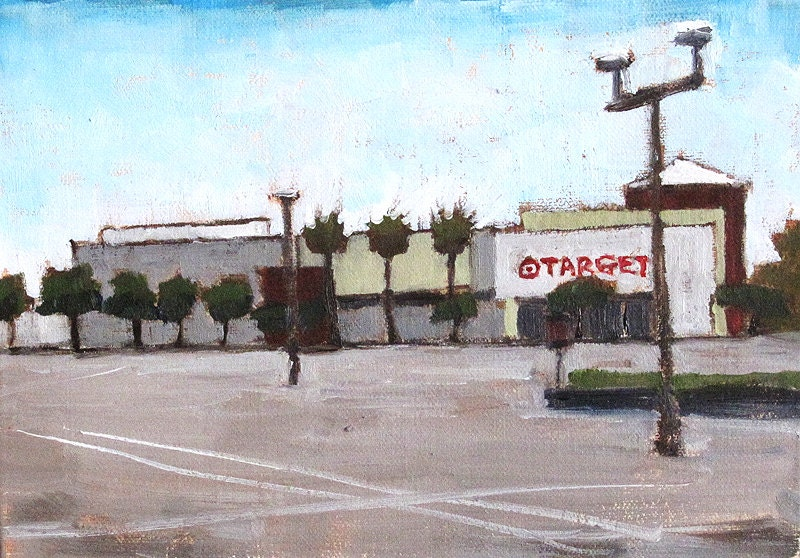 Mission Valley Target  Store- Painting of San Diego