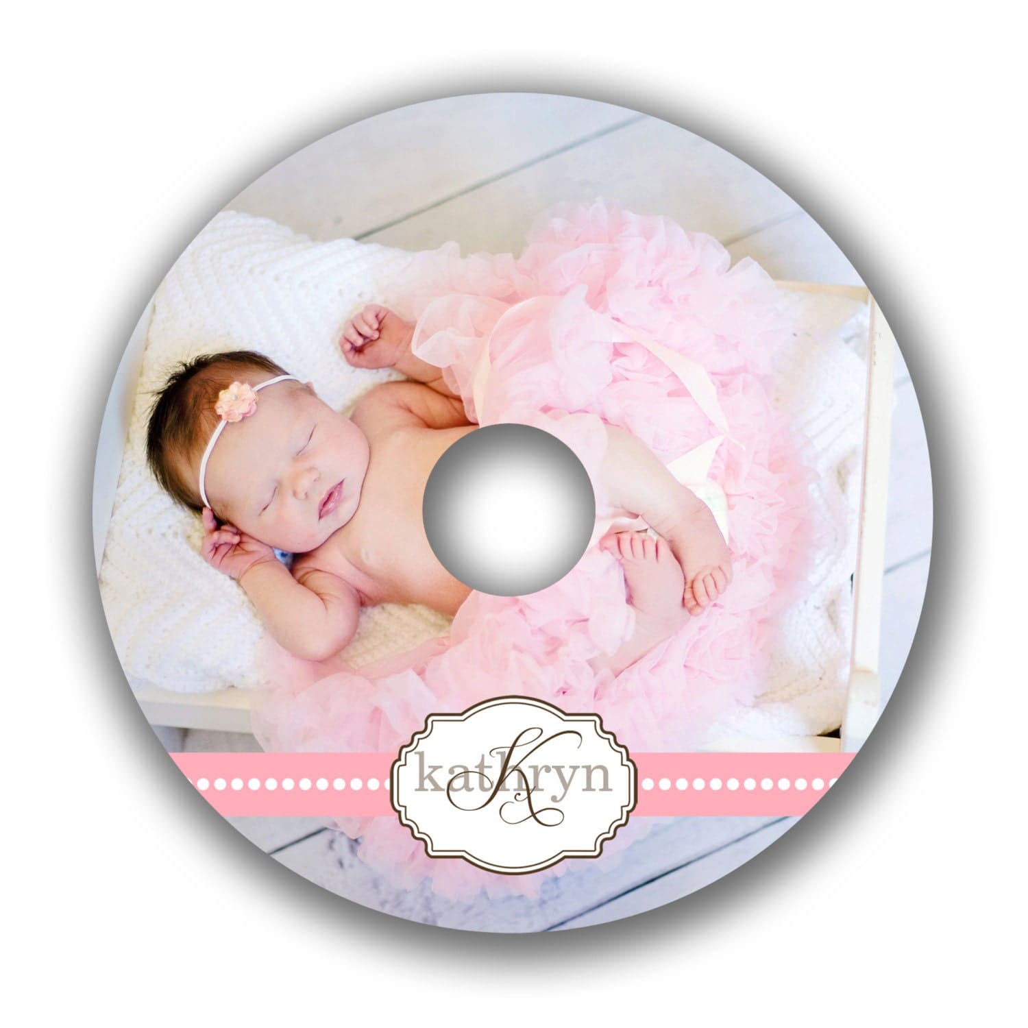 CD Label Template Photoshop