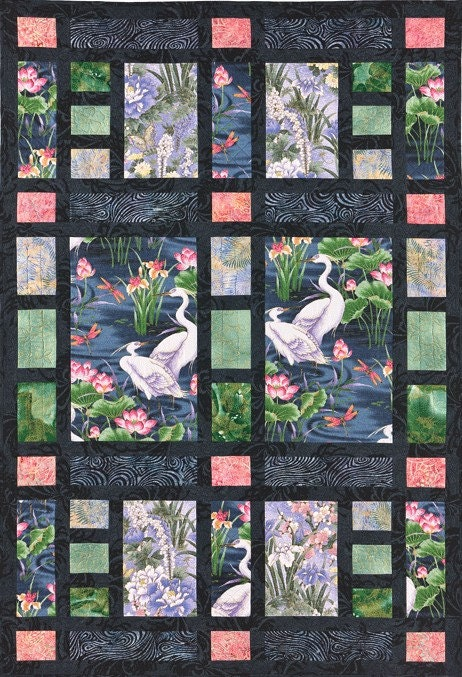 Quilts Japanese Asian On Pinterest Asian Quilts