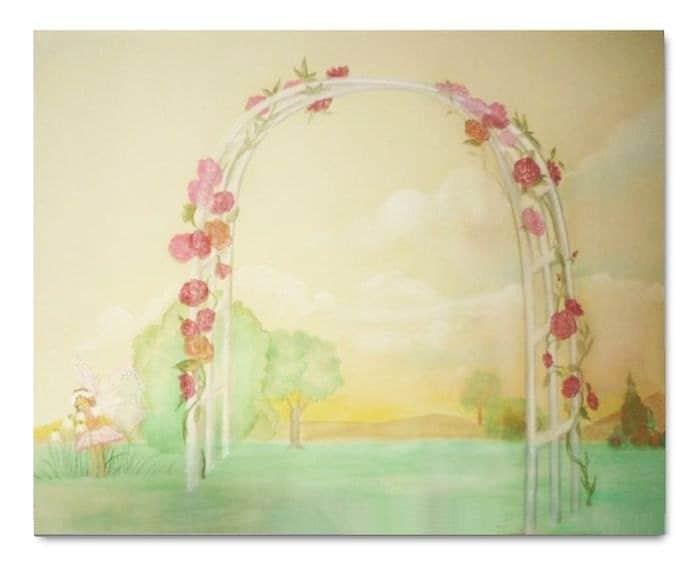 Fairytale Baby Girl Nursery Art Fairies Fairyland By