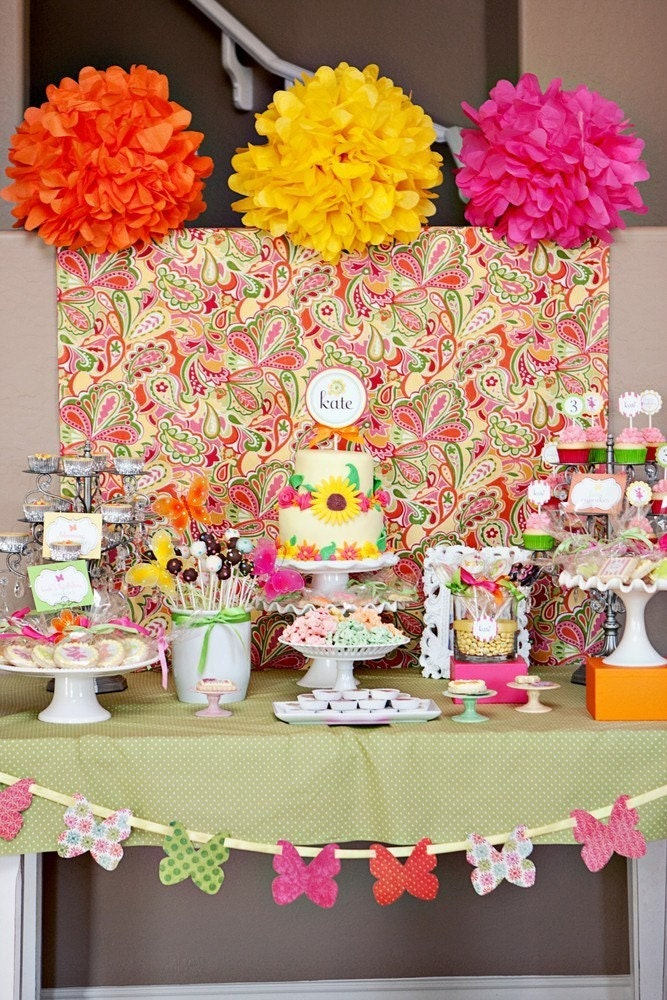 Fairy Garden Birthday Party - Full Printable Party Collection - The TomKat Studio - tomkatstudio