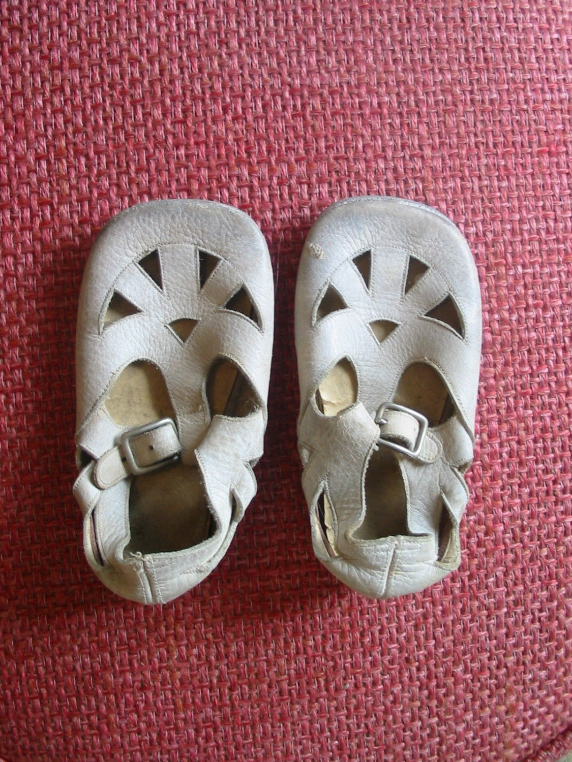 Vintage Little Girl's Shoes
