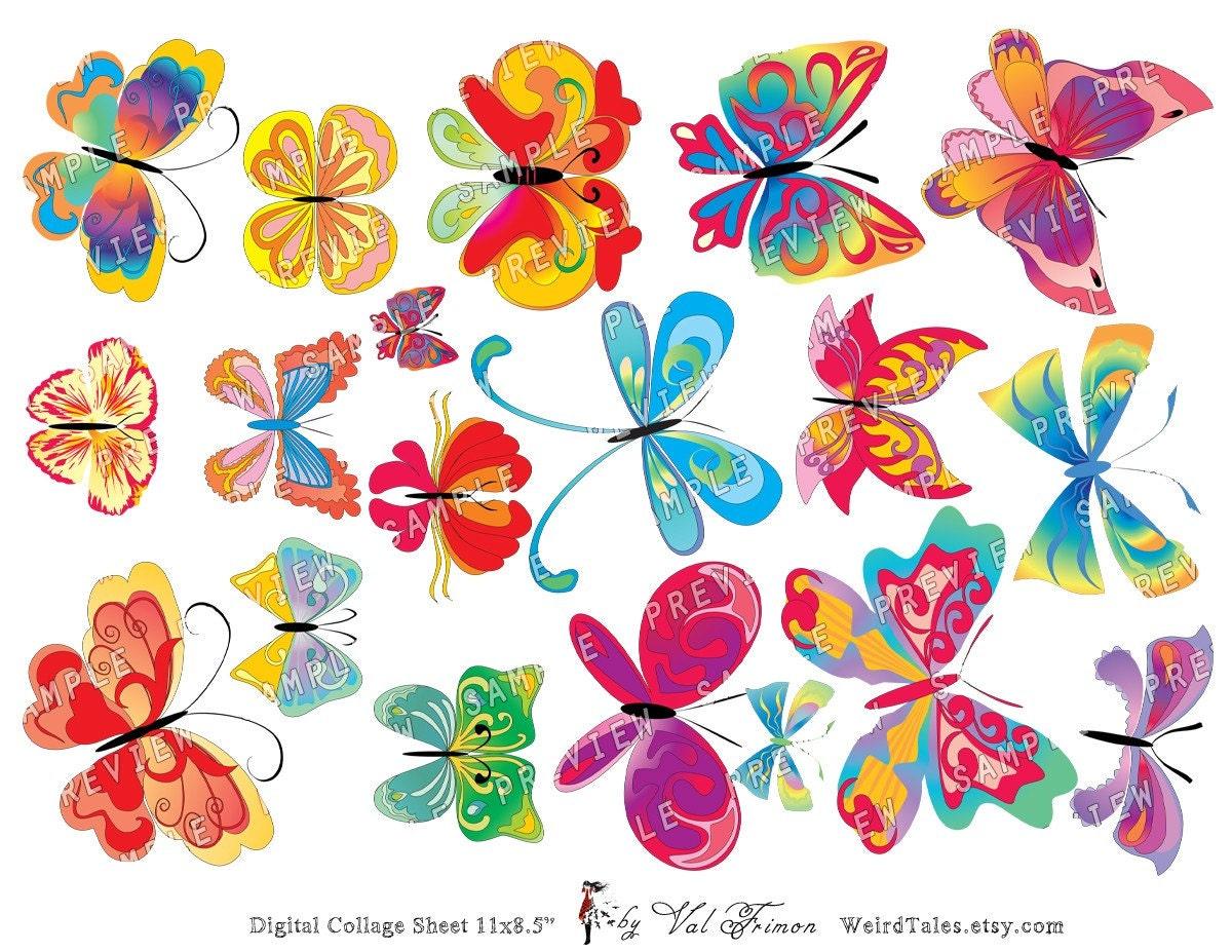 Рисованные картинки бабочки для детей