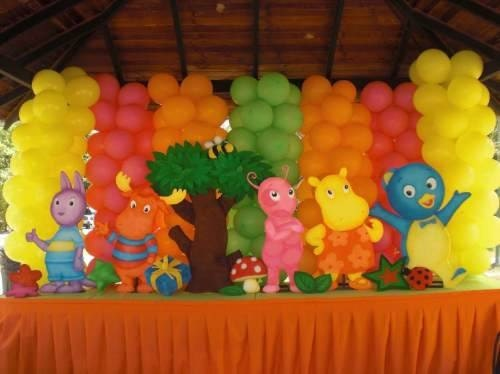 Items similar to backyardigans centerpiece birthday party for Backyardigans party decoration