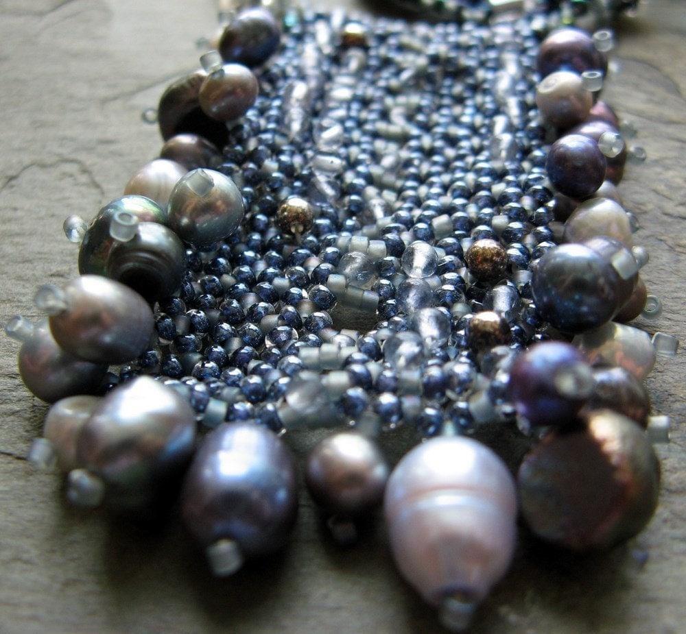 study in iolite necklace