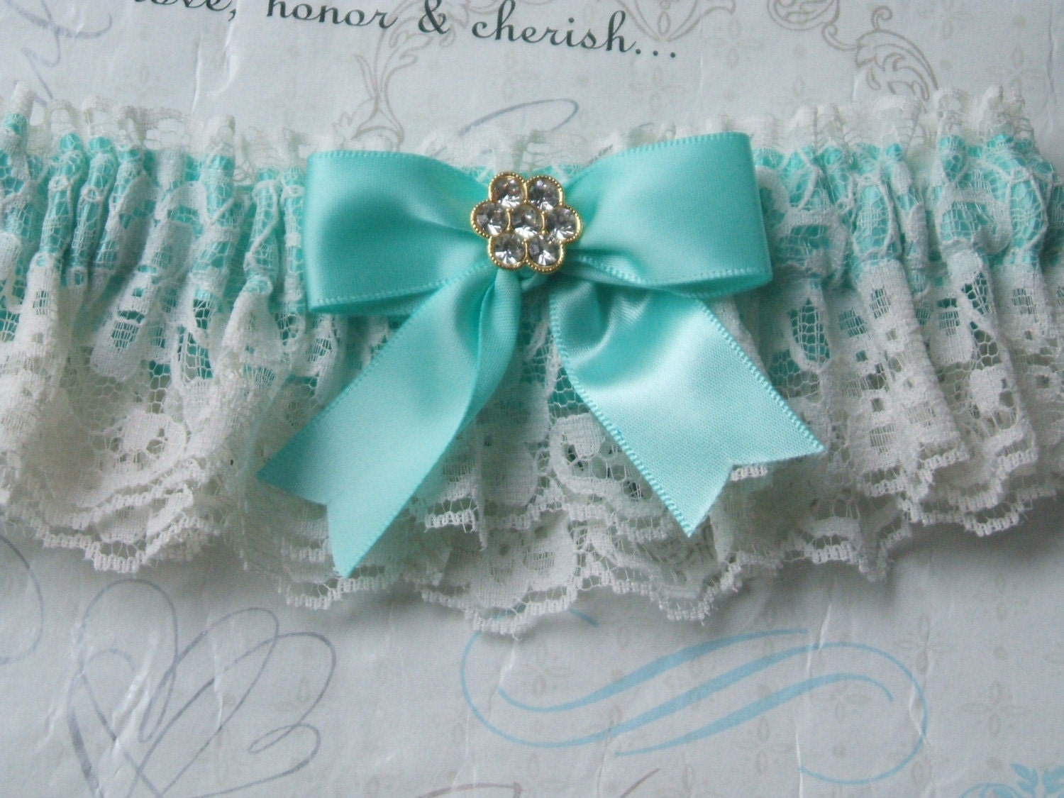 Tiffany and vintage lace