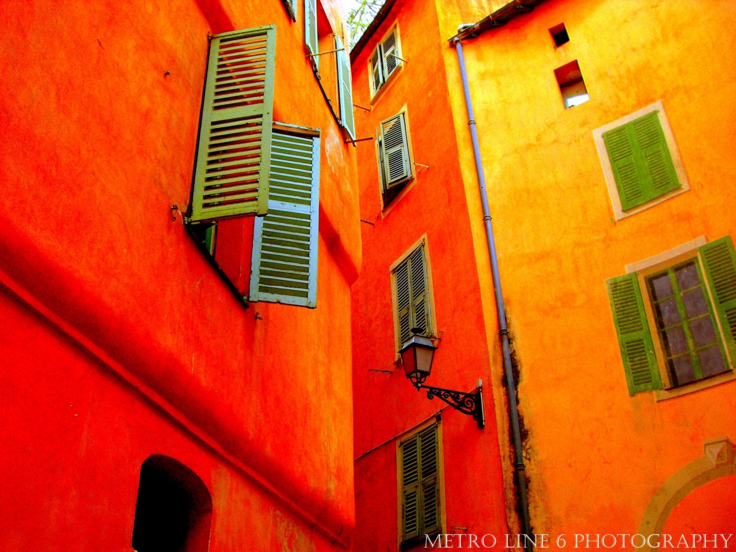 Windows of Nice 8x10 Photography Print