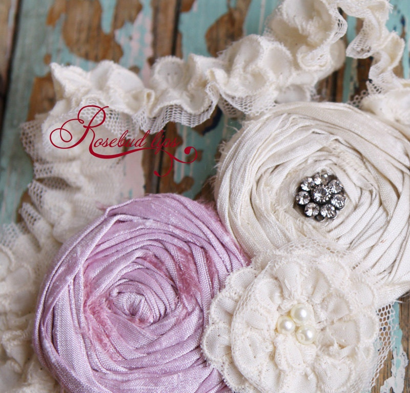 Vivienne Frosted Wedding Garter -perfect for brides to be- Choose your color rose