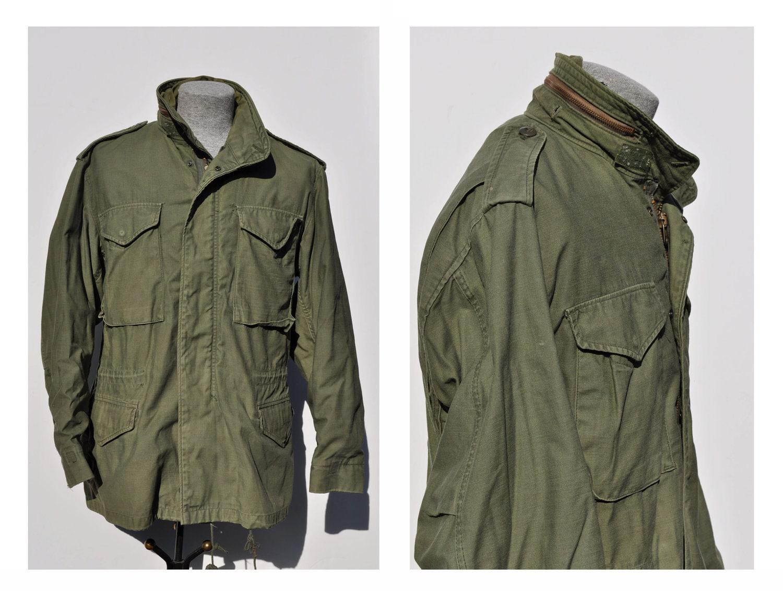 M65 vintage military army field jacket coat medium by andyhaul