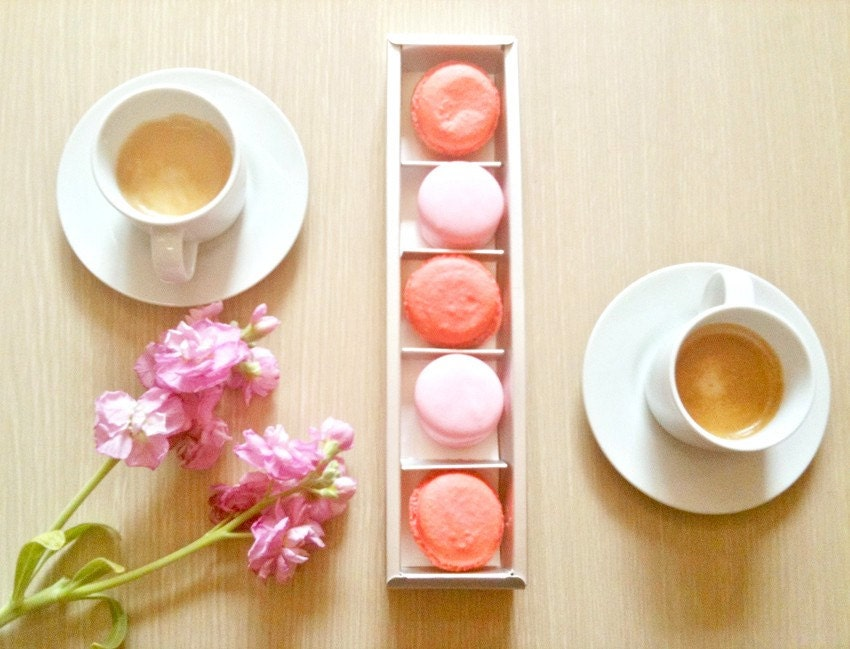 4 Silver Macaron cases