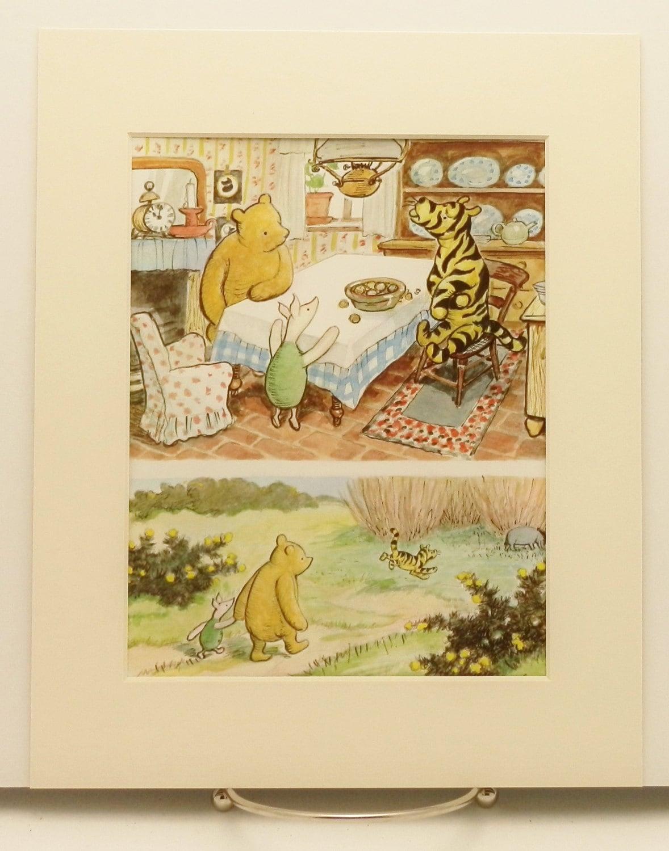 Nursery Decor Art Print Winnie The Pooh Art By Cloudnineprints