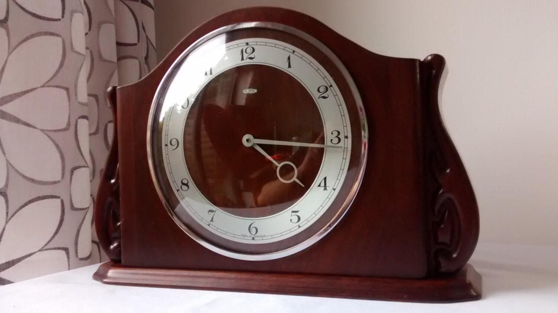 METAMEC 1930s 1940s electric clock ART DECO