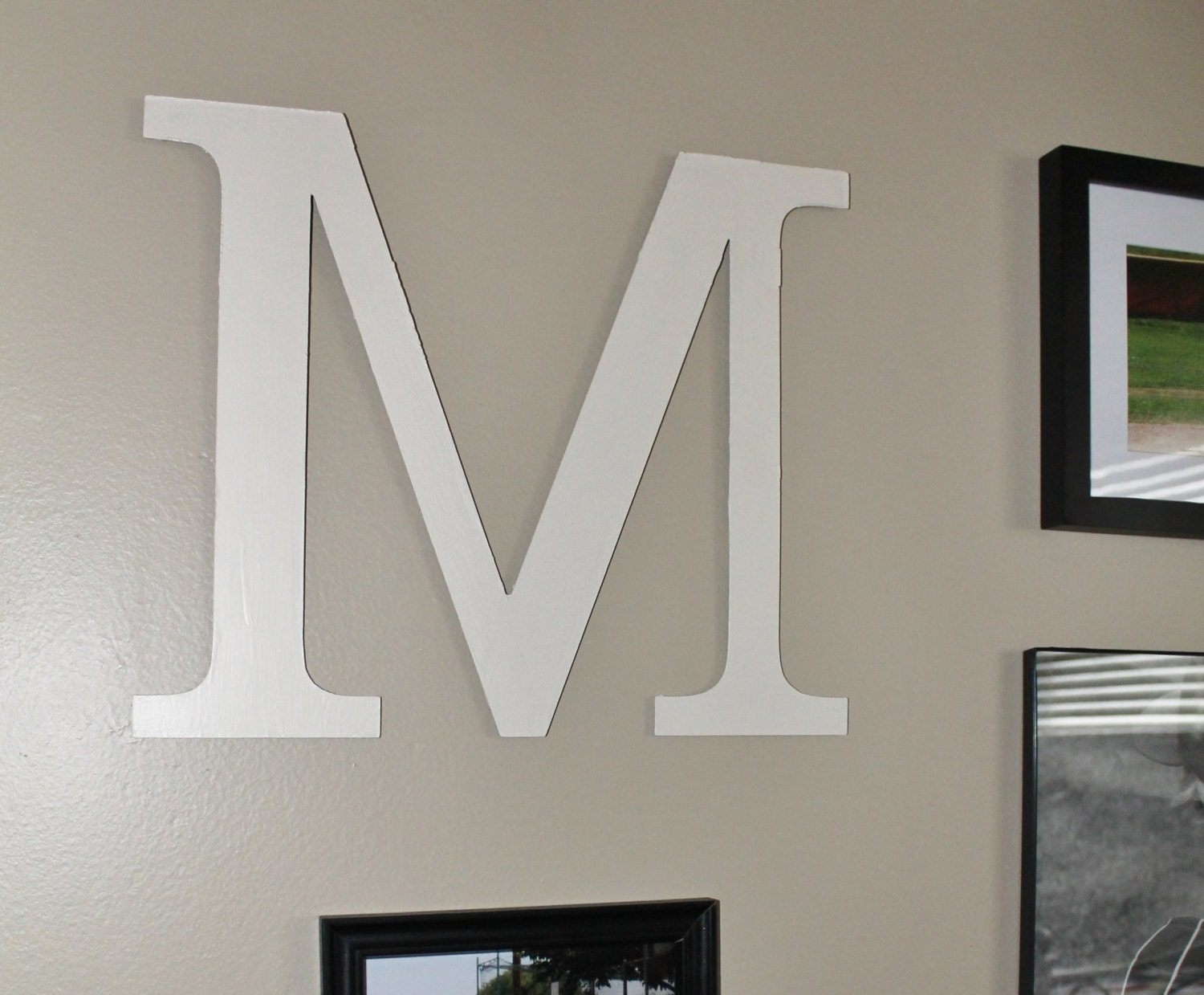 items similar to personalized metal art text letter home. Black Bedroom Furniture Sets. Home Design Ideas