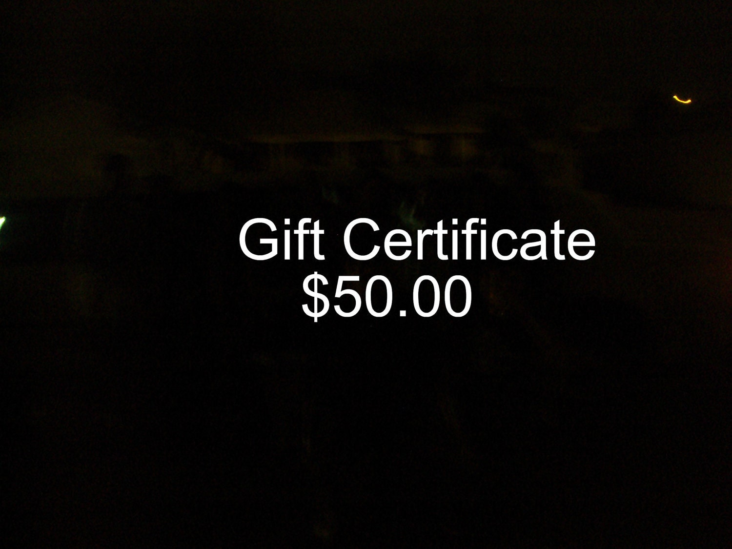 WireQueenJewelry Fifty Dollar Gift Certiftcate