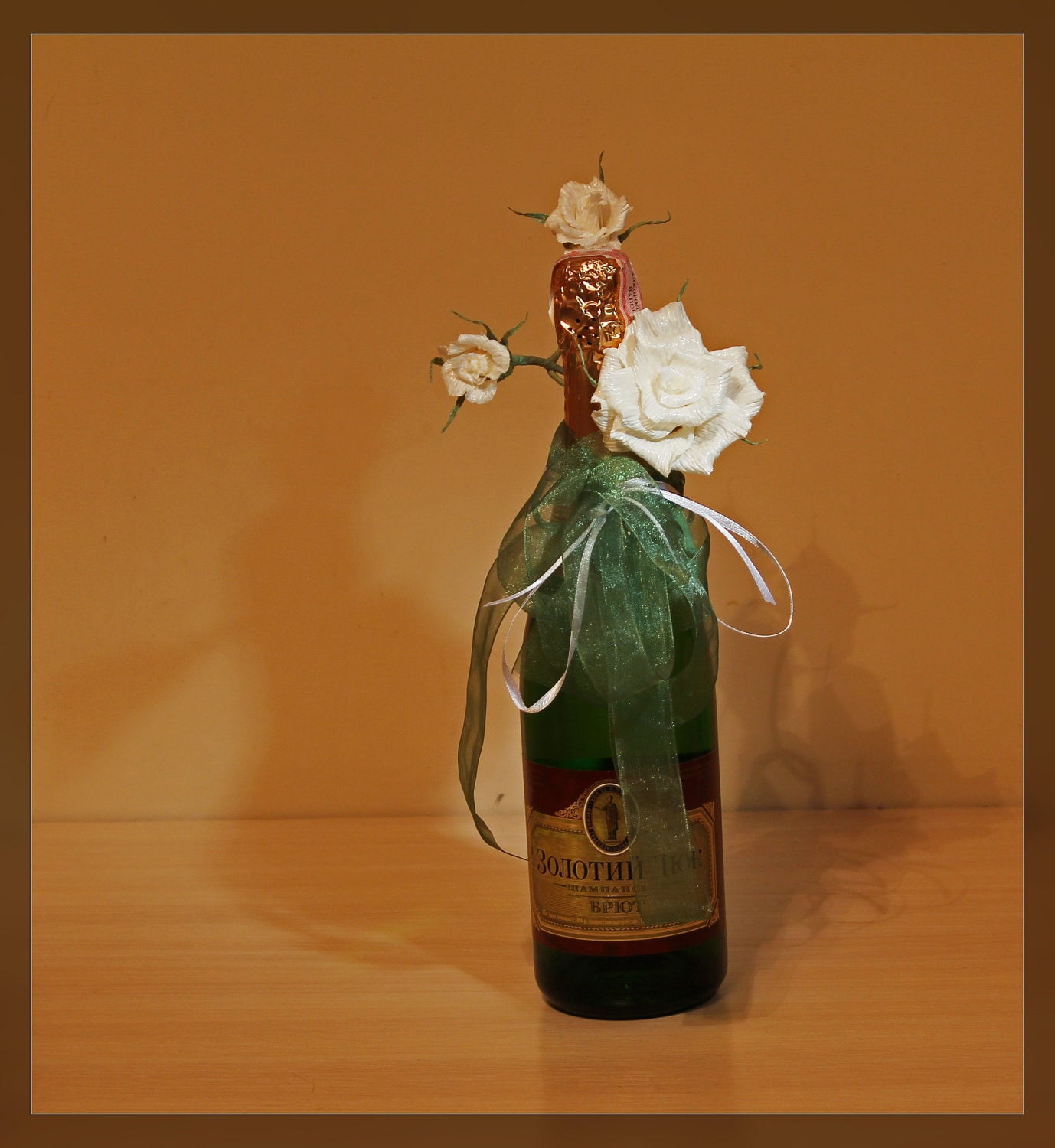 Grooms flower boutonniere wedding boutonniere by for Wine bottles decorated with flowers