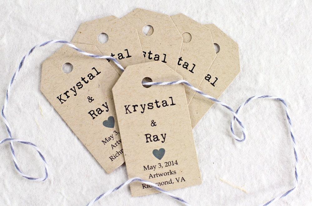 Wedding Gift Name Tags : ... TagsWedding Gift Tag, Bridal Shower Favor Tag, Wedding Tags, Name