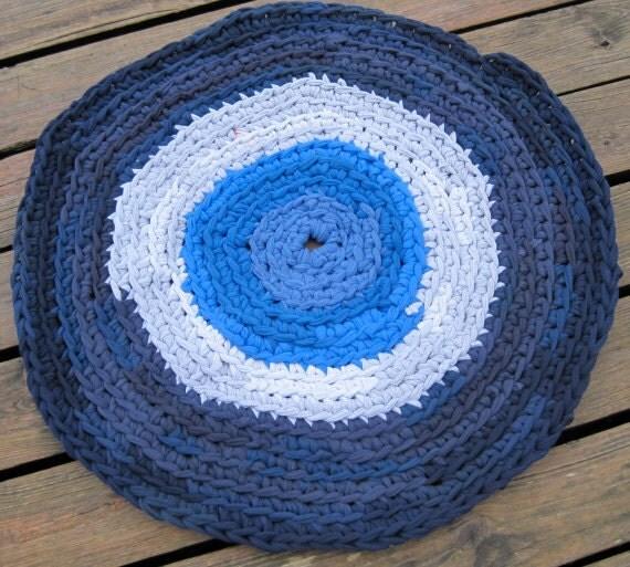 Pattern Rag Rug T Shirt Yarn Crochet Tutorial By AlbsmeyerRoad