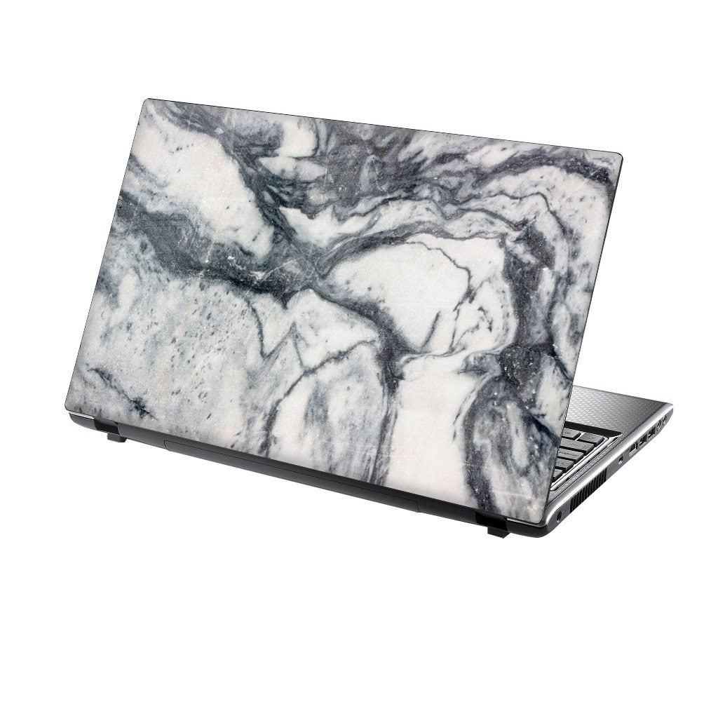 TaylorHe Laptop Skin Sticker White Marble Texture