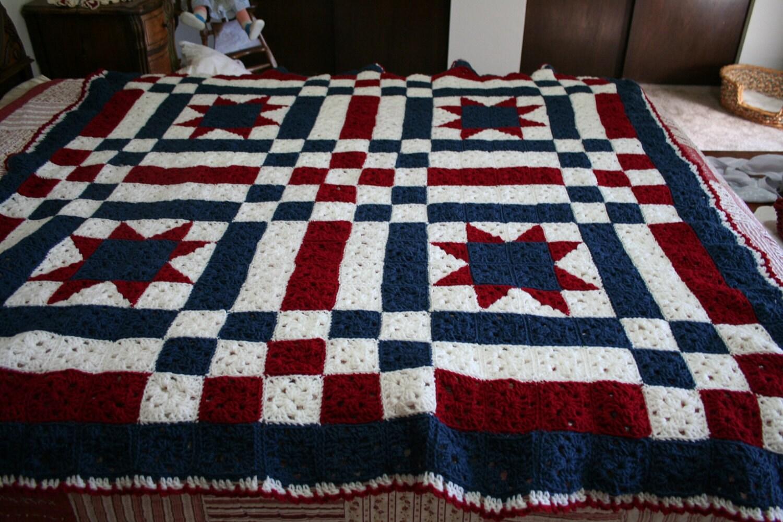 Crochet Patterns Patchwork Quilt : CROCHET PATCHWORK AFGHAN PATTERN - Crochet Club