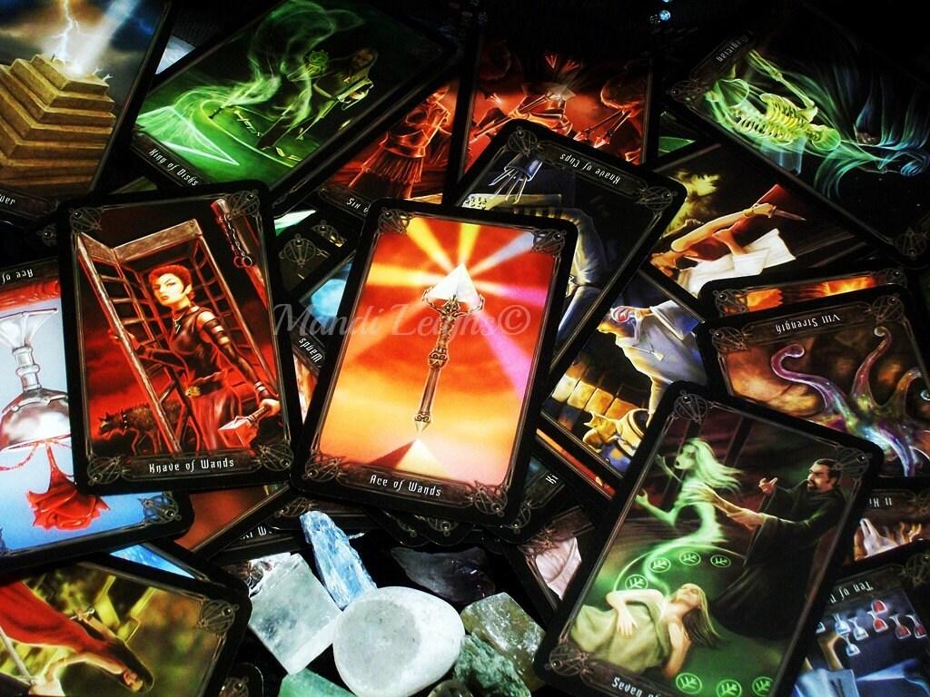 Divination Kit Complete Tarot, Crystal, Spell, Altar Set