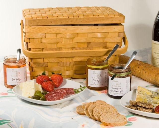Summer Picnic Gift Basket