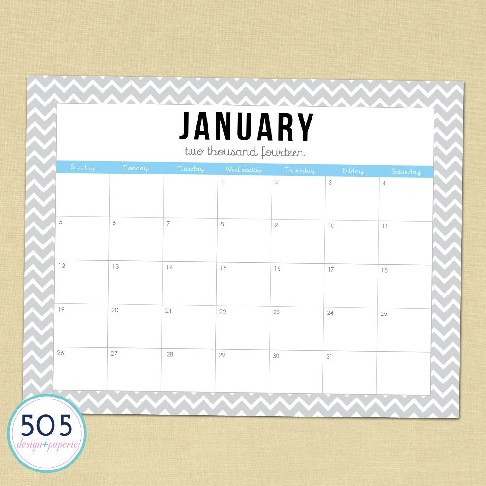 Monthly Calendar You Can Edit : Printable calendar by month you can type in autos post