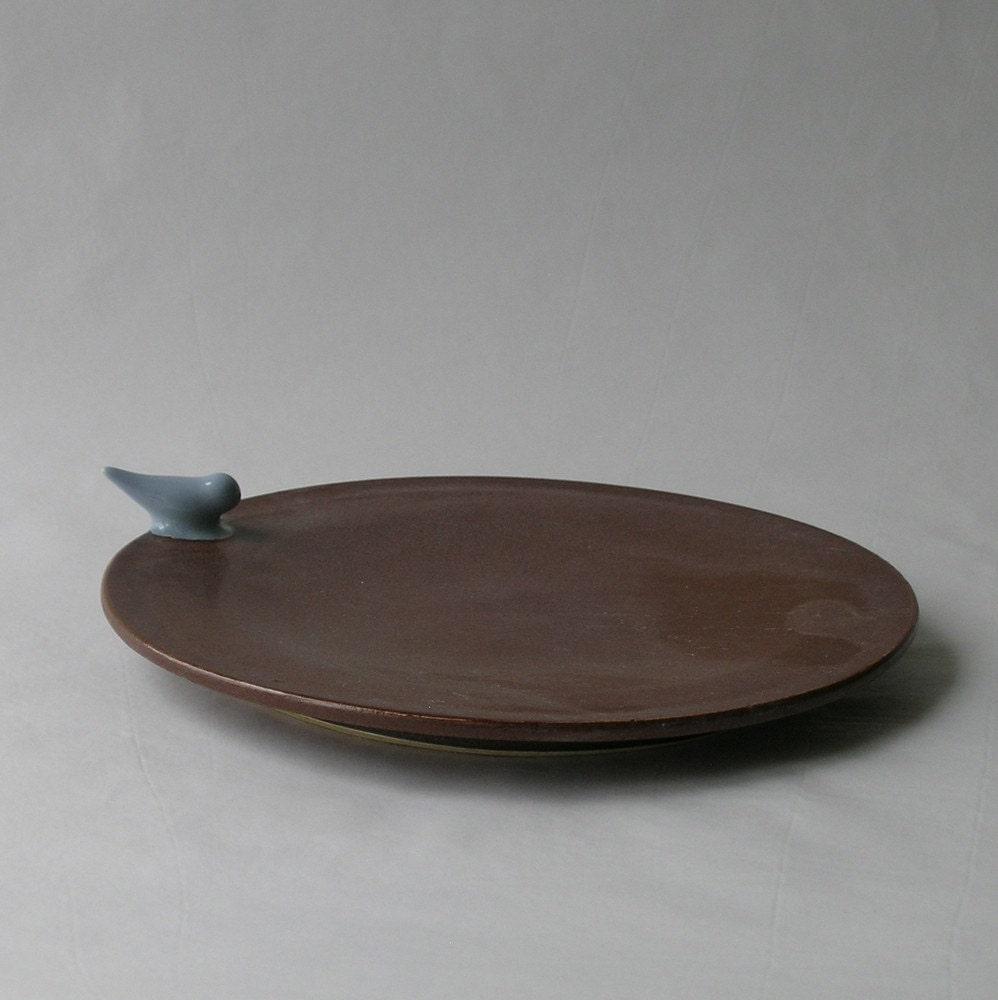 Bird Dessert Plate
