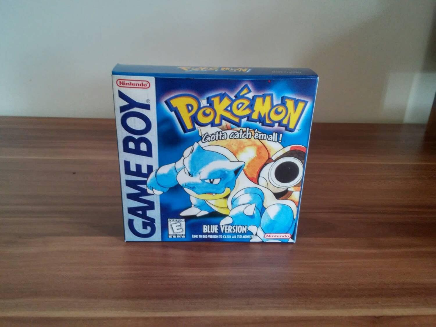 Game Boy Pokemon Blue  NTSC or Pal Repro Box with Insert NO GAME Included