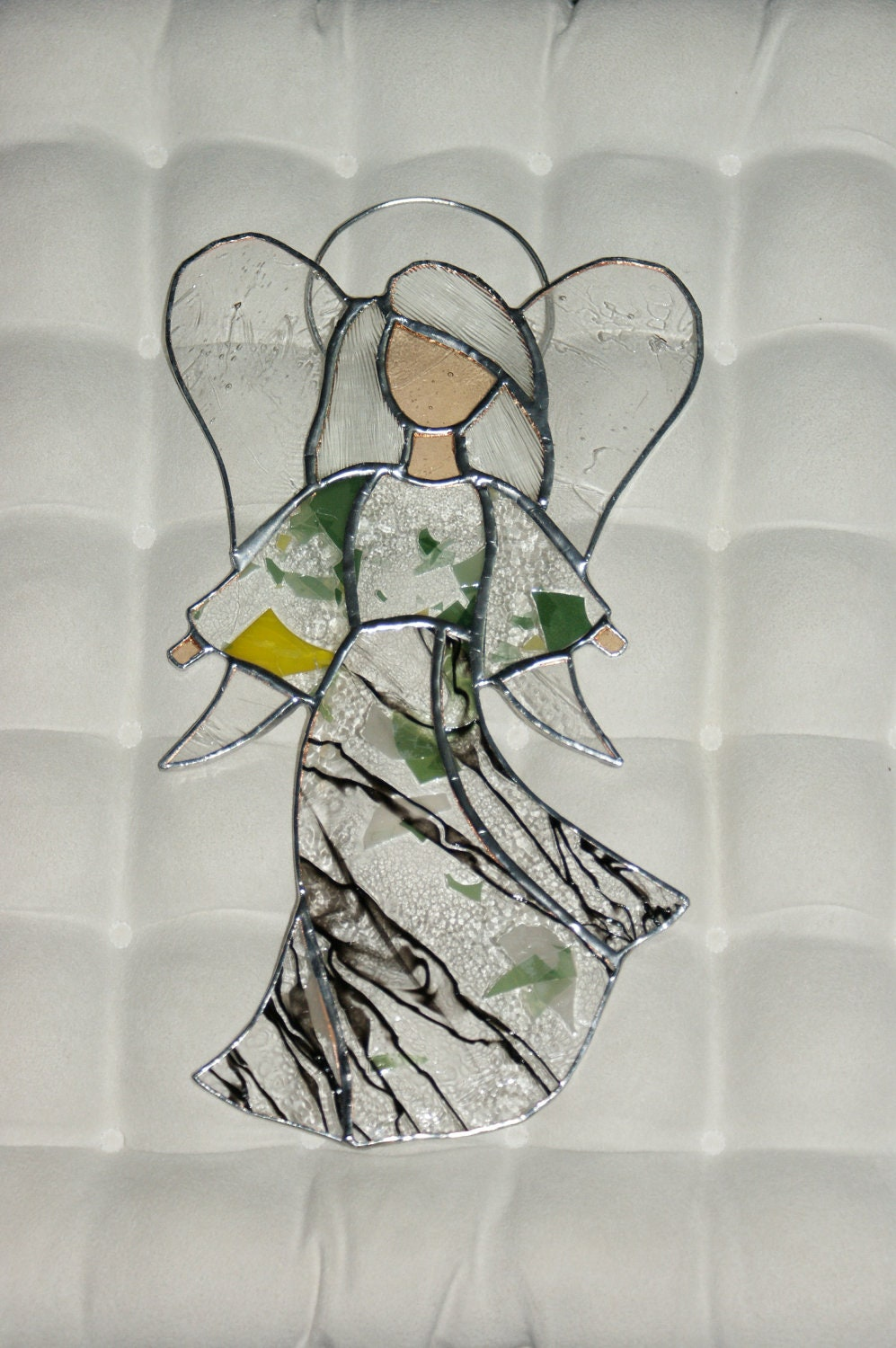 Stained Glass Multicolor Angel - Anazie