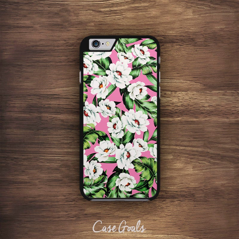 Flower iPhone Tropical Blossom Pattern iPhone 6 Case iPhone 6S Case iPhone 5S Case iPhone 5 Case iPhone 5C Case iPhone 7 Case iPhone 4 Case