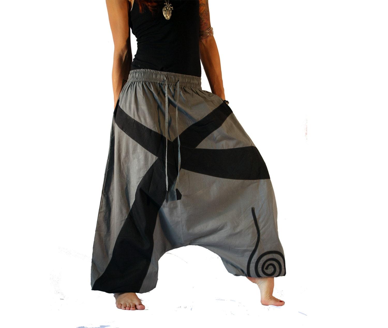 Как сшить штаны-афгани (Алладин). несколько вариантов выкроек 41