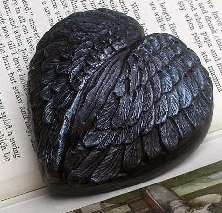 Black Angel Wings Soap - Palm Free